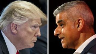 Donald Trump / Sadiq Khan