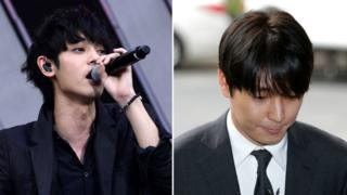 Jung Joon-young (left) rose to fame on a TV talent show while Choi Jong-hoon was part of a best-selling band