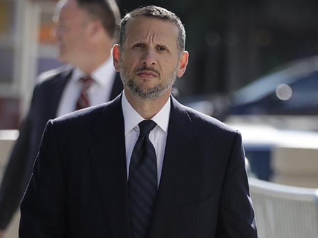 David Wildstein, a former executive at the agency that oversees New York-area bridges and tunnel, has pleaded guilty at the trial. Picture: AP Photo/Julio Cortez