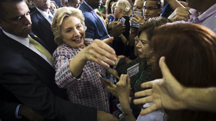 The Latest In leaked speech Clinton discusses young voters