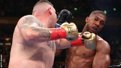 Ruiz stopped Joshua in the seventh round at Madison Square Garden