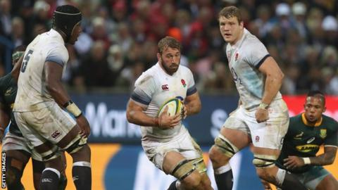 Chris Robshaw helps England beat South Africa in Cape Town