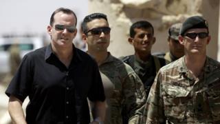 Brett McGurk in Syria in 2017