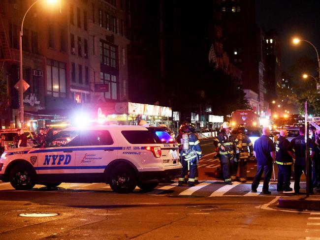 A second device was found four blocks from the explosion that erupted in the Chelsea neighbourhood of Manhattan, New York City. Picture: Jamie McCarthy / Getty Images / AFP
