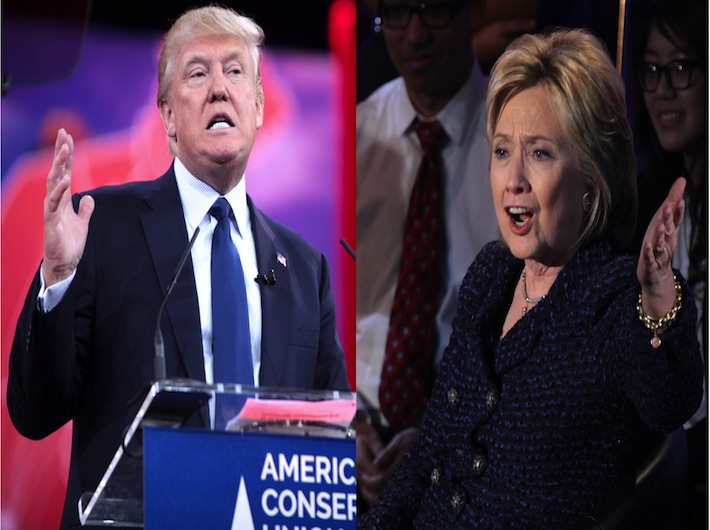 Despite a whirlwind of negative press Donald Trump has surpassed Clinton in the polls