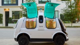 Nuro R2 delivery van