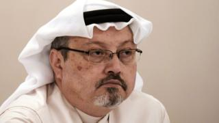 File photo of Jamal Khashoggi (15 December 2014)