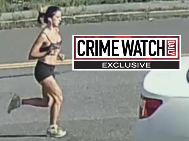 New surveillance video shows slain jogger Karina Vetrano, 30, moments before her death. Picture: Crime Watch Daily