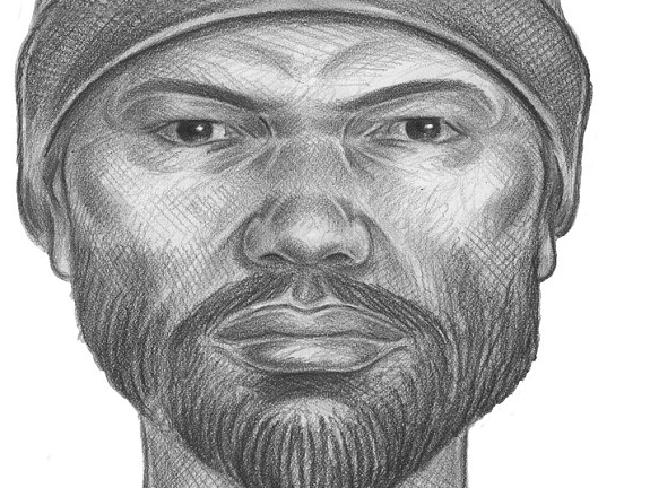 Police are looking for the man in the sketch, last seen in the area where Karina Vetrano was killed. Picture: NYPD