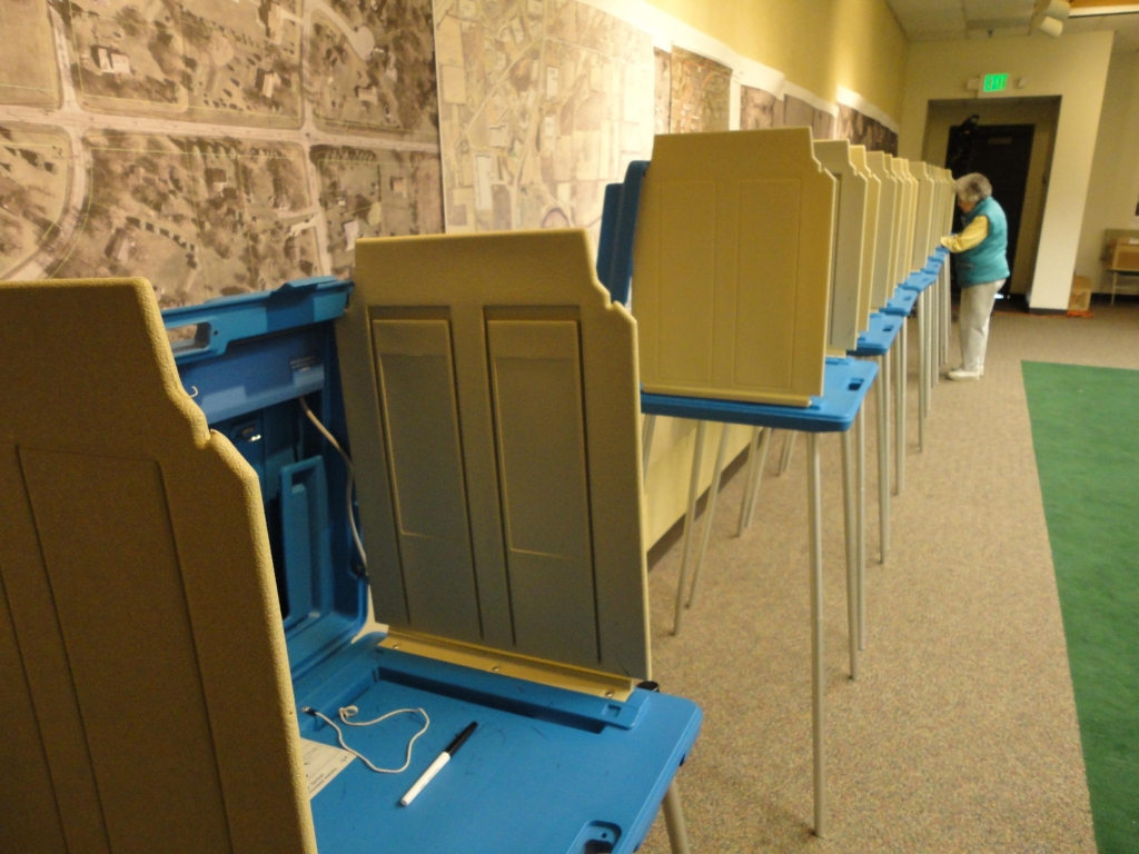 Voters will cast ballots in the presidential election Nov. 8