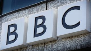 BBC logo on building