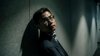 Wang William Liqiang photographed for The Age newspaper