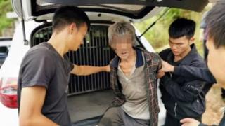 Fugitive arrested by police