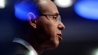 US Deputy Attorney General Rod Rosenstein