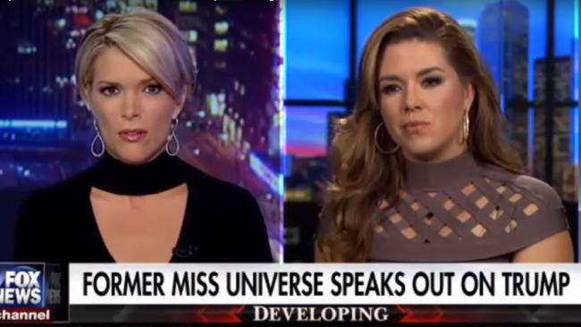 Alicia Machado is not holding back in trying to turn supporters away from Trump.