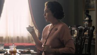 Olivia Colman as The Queen in series three of The Crown