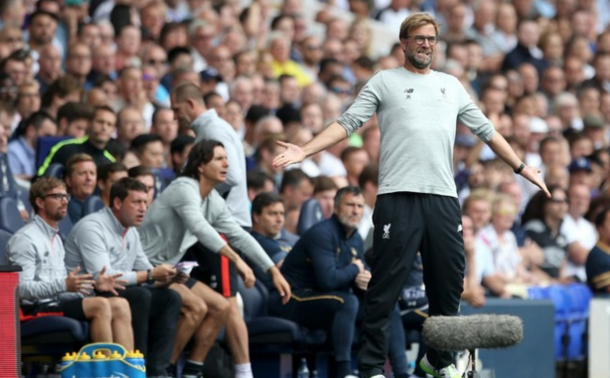 Klopp's frustrations showed on the sidelines