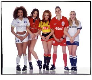 Spice Girls, Holborn Studios, 1996