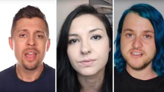 YouTubers Amp Somers, Chrissy Chambers and Chase Ross