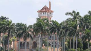 A file photo of President Trump's Mar-a-Lago resort in Florida