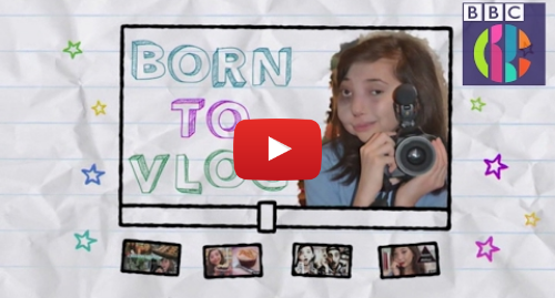 Youtube post by CBBC: Nikki Lilly | Born To Vlog | CBBC