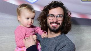 Joe Wicks and daughter Indie
