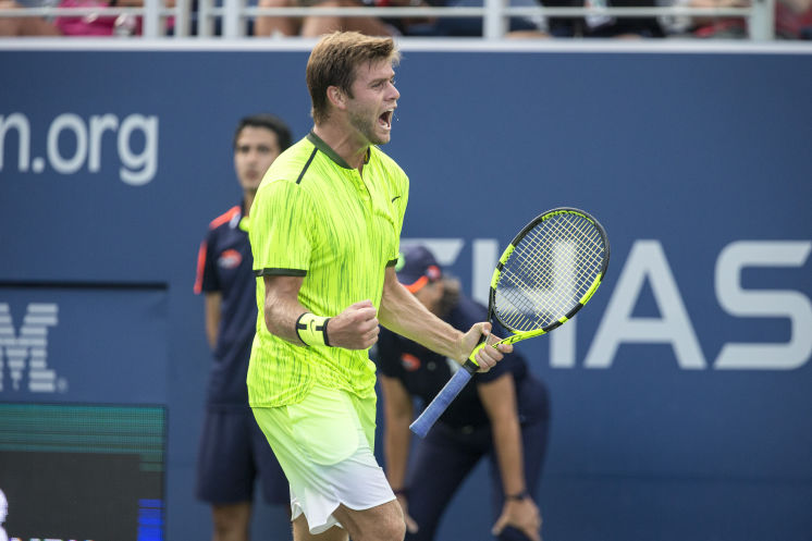 Ryan Harrison ranked 120th advances to the third round at a Grand Slam for the first time