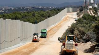 Israeli-Lebanon border (file photo)