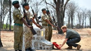 Prince Harry in Malawi