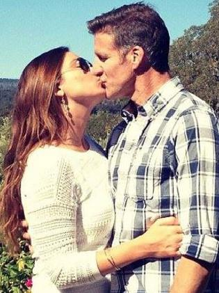 Brittany Maynard and husband Dan Diaz. Picture: Supplied