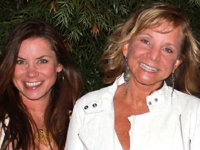 Brittany Maynard and her mum, Deborah Ziegler. Picture: Supplied