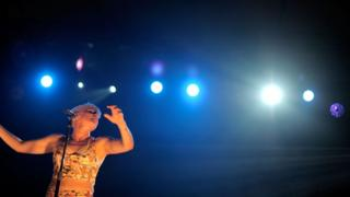 Robyn performs at Coachella in 2015