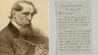 Charles Dickens and a letter to a fan