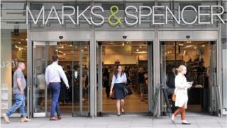 Marks  Spencer store