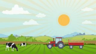 Image showing farm scene