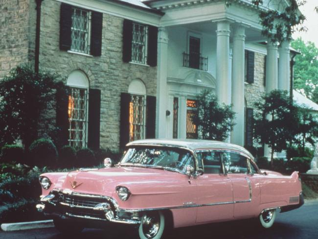 Elvis Presley's Graceland Mansion in Memphis, Tennessee has been turned into a museum. Picture: Supplied