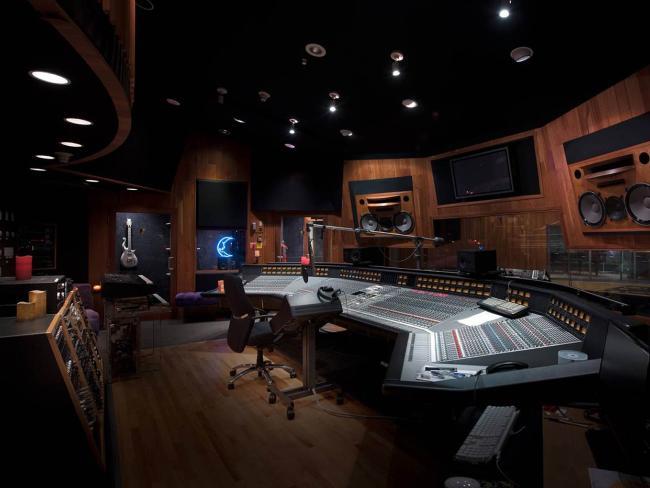 Prince's recording Studio A at Paisley Park. Picture: Paisley Park/NPG Records via AP