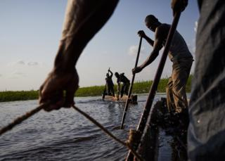 Fishermen on the River Congo