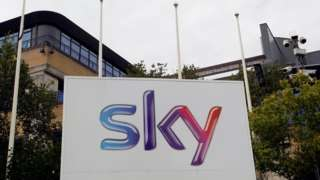 Sky offices in West London