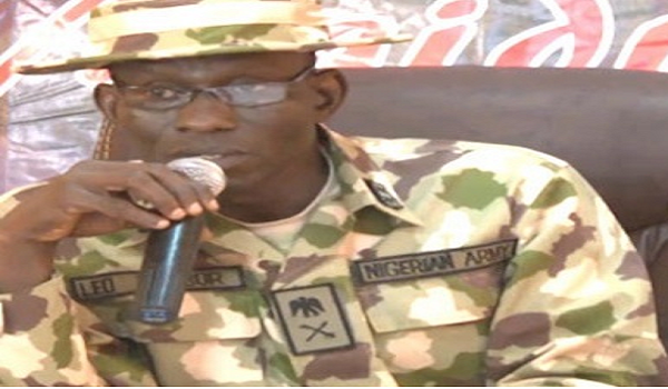 Maj. General Leo Irabor describes the theft as a betrayal of Nigerian people