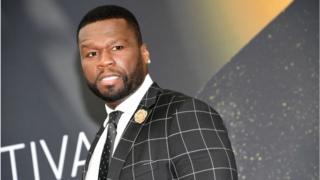 The rapper 50 Cent