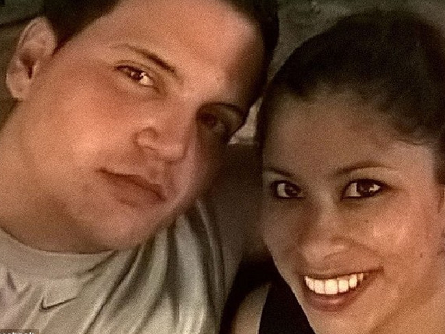 Fidel Lopez and Maria Nemeth had only recently moved in to the apartment in Sunrise, Florida, at the time of the murder. Picture: Facebook