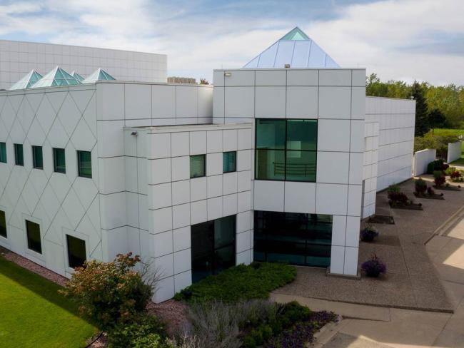 Prince's Paisley Park in Chanhassen, Minnesota will become a permanent museum. Picture: Paisley Park/NPG Records via AP