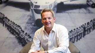 Rupert Hogg, Chief Operating Officer of Cathay Pacific Airways in Cathay City. 13DEC16