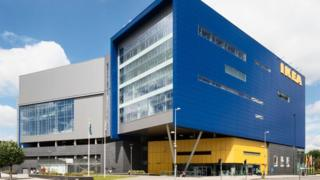 Ikea's store in Coventry