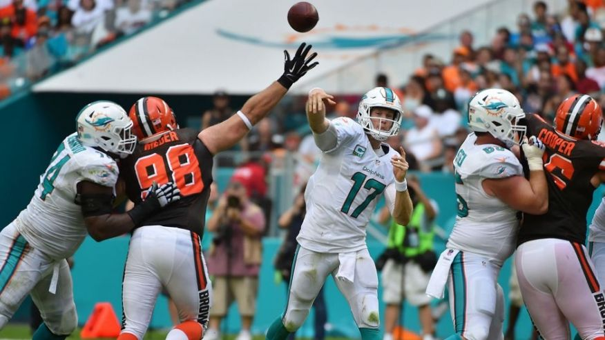 LIVE UPDATES: Cleveland Browns at Miami Dolphins