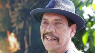 US actor Danny Trejo arrives for the premiere of Dora and the Lost City of Gold in Los Angeles on 28 July 2019.
