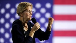 Elizabeth Warren. Photo: November 2019