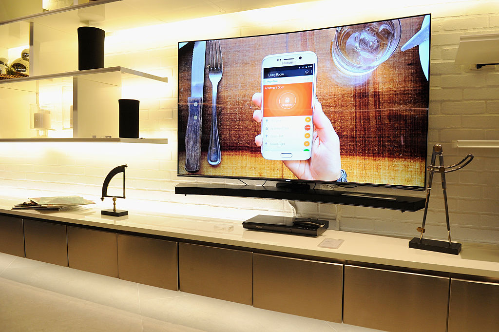 Samsung leads the race with it's all new 88-inch SUHD TV that features the latest in quantum-dot technology