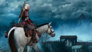 Screenshot from The Witcher